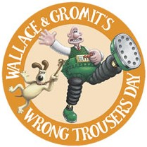 wrong trousers logo