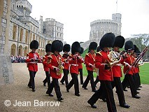Guards at Windsor Castle