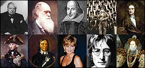 The Top 10 Greatest Britons