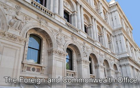 Whitehall london photos map and information - British foreign commonwealth office ...