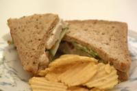 Sandwiches and crisps